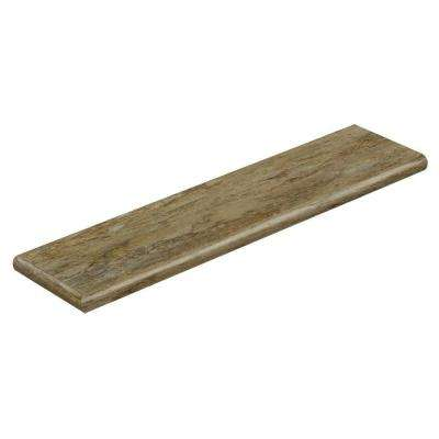 Patina 94 in. Long x 12-1/8 in. Deep x 1-11/16 in. Height Vinyl Left Return to Cover Stairs 1 in. Thick