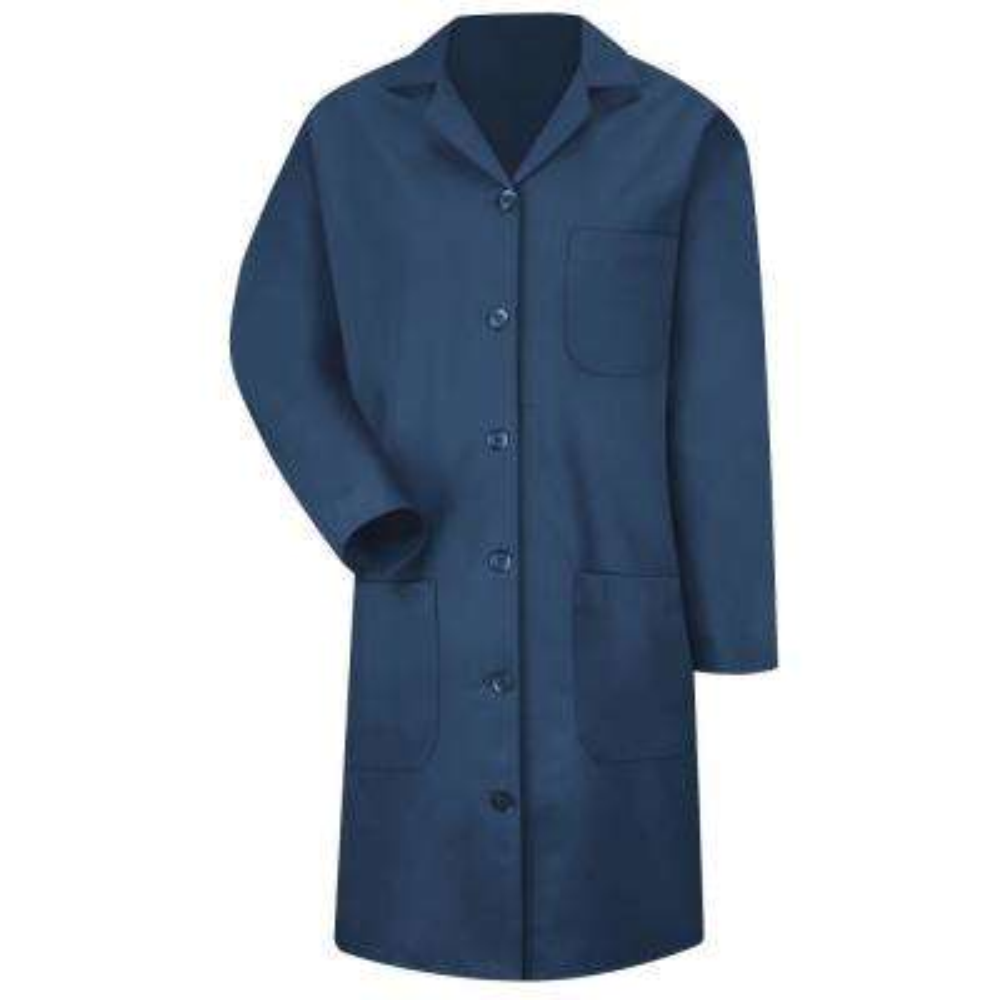 Women's Size M Navy Lab Coat