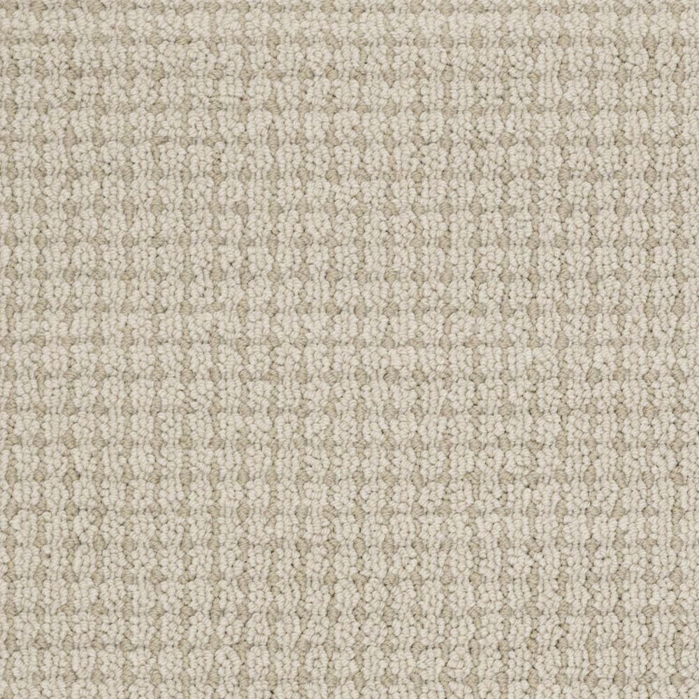 Martha Stewart Living Gloucester Hill - Color Snail Shell 6 in. x 9 in. Take Home Carpet Sample