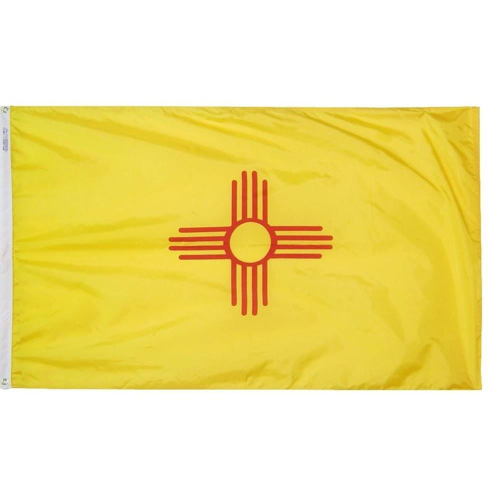 Annin Flagmakers 4 ft. x 6 ft. New Mexico State Flag
