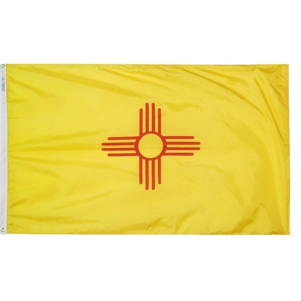 2 ft. x 3 ft. Nylon New Mexico State Flag
