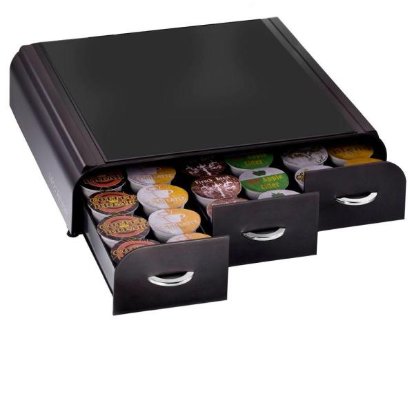 Mind Reader Anchor 36 Capacity K-Cup Drawer in Black TRY01-BLK
