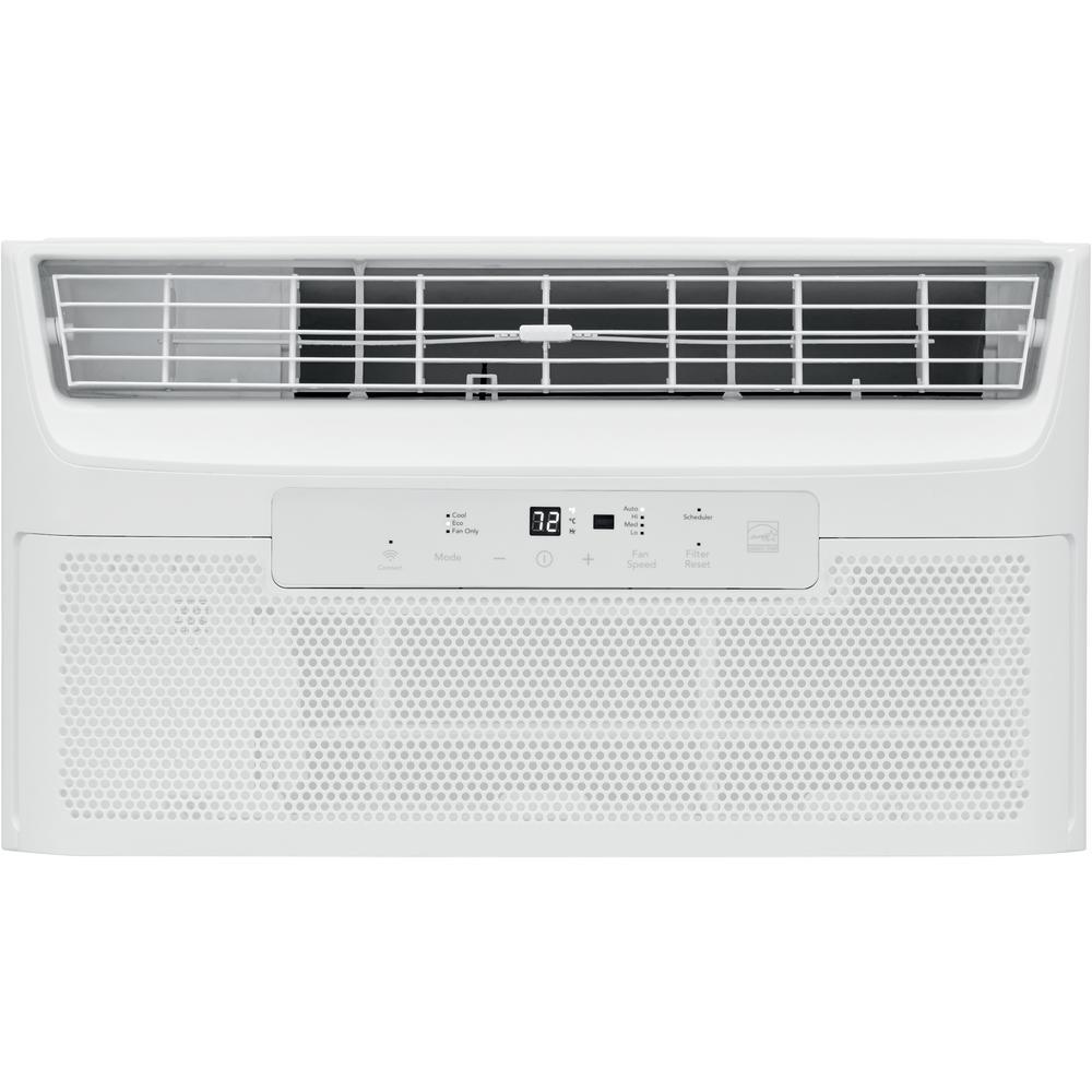 8,000 BTU Cool Connect Quiet Temp Smart Room Air Conditioner in White