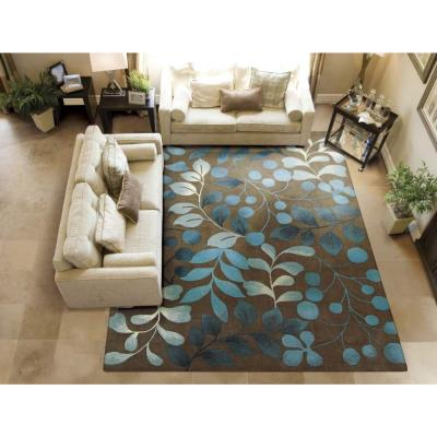 Berry Branch Mocca 5 ft. x 8 ft. Area Rug