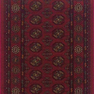 Kurdamir Boukara Crimson 26 in. x Your Choice Length Roll Runner