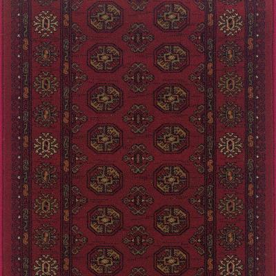 Kurdamir Boukara Crimson 33 in. x Your Choice Length Stair Runner