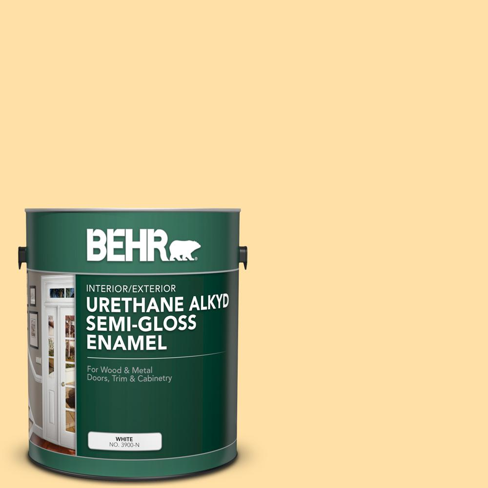 310a 3 Manila Tint Urethane Alkyd Semi Gloss Enamel Interior Exterior Paint