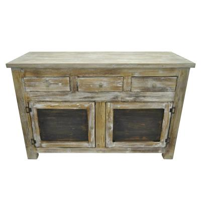 30.5 in. Brown Wood Cabinet