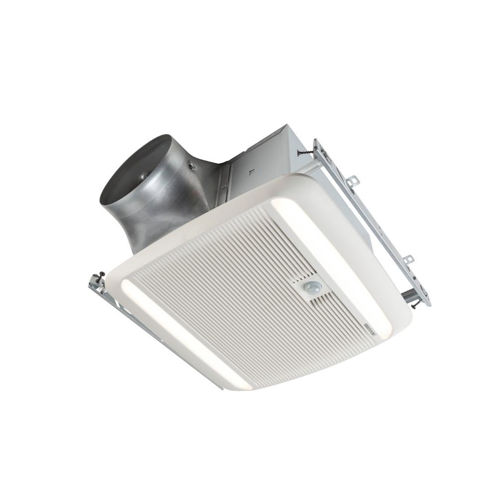 Broan Ultra Green Zb Series 110 Cfm Multi Speed Ceiling Bathroom Exhaust Fan With Led Light And