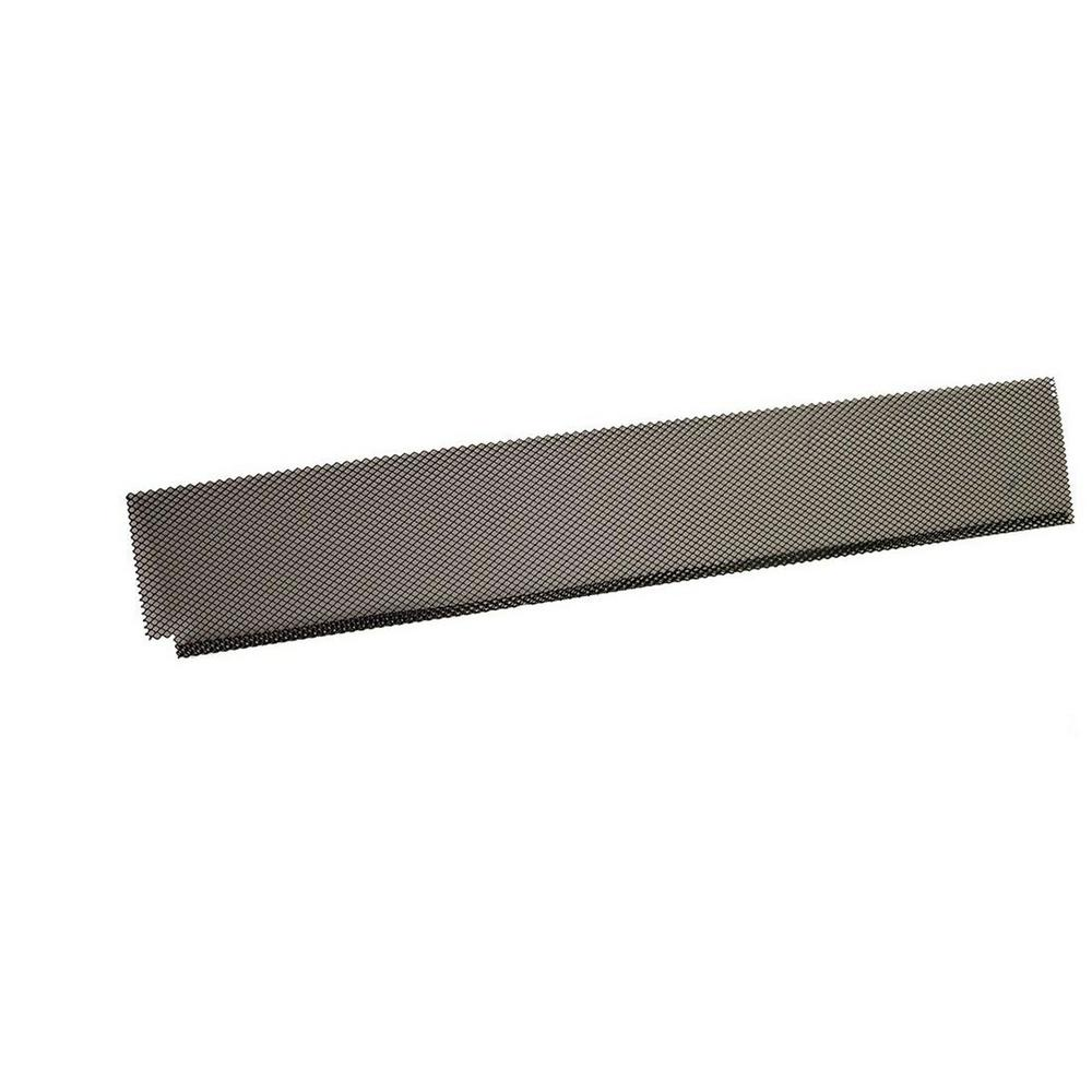 Amerimax Home Products Metal Black Lock In Gutter Guard