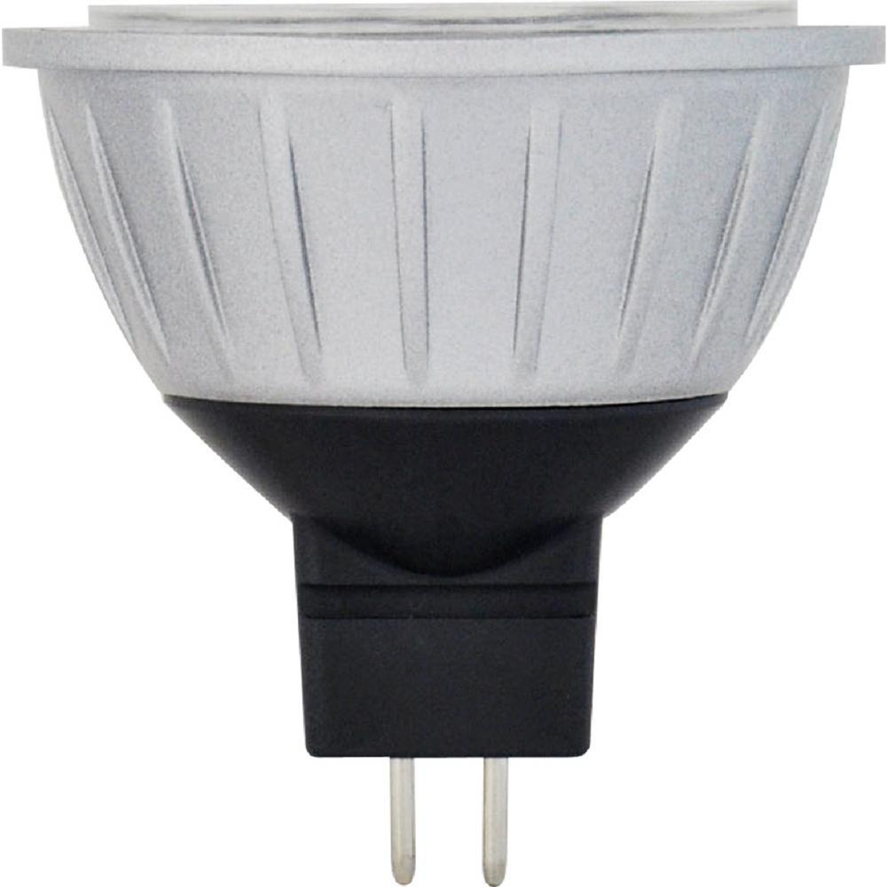 35-Watt Equivalent 4.5-Watt MR16 Dimmable LED Wide Flood 60 Degree 10-18V Light Bulb GU5.3 Warm White 2700K 81066