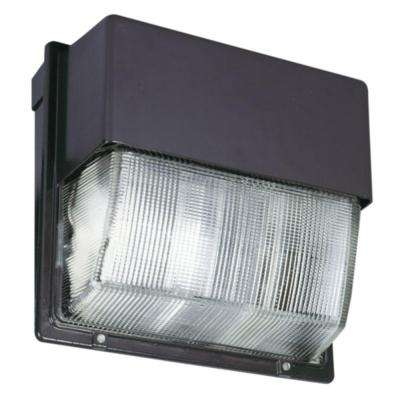 Bronze Outdoor Integrated LED 5000K Wall Pack Light