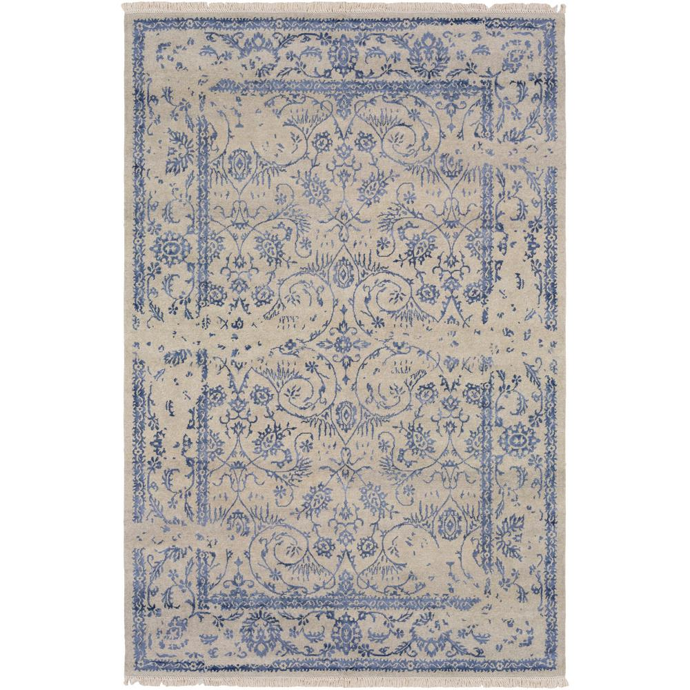 Cando Navy (Blue) 6 ft. x 9 ft. Area Rug