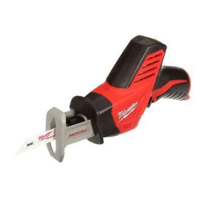 M12 12-Volt Lithium-Ion HACKZALL Cordless Reciprocating Saw (Tool-Only)