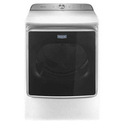 9.2 cu. ft. Electric Front Load Dryer in White