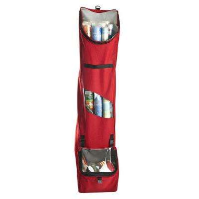 5f879996c4c5 Red Hanging Wrapping Paper Storage