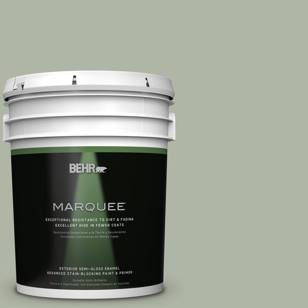 BEHR MARQUEE 5-gal. #PPU11-9 Environmental Semi-Gloss Enamel Exterior Paint