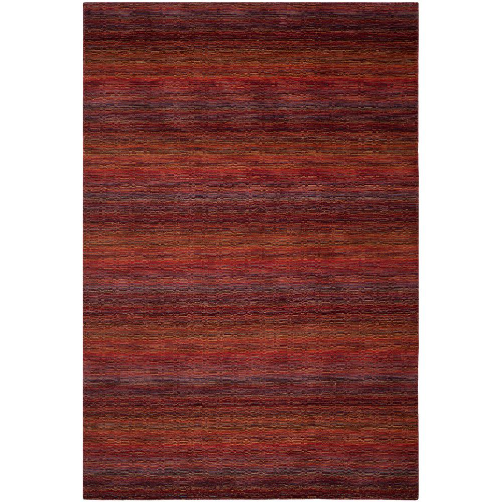 Safavieh Himalaya Red Multi 8 Ft X 10 Ft Area Rug Him703a 8 The
