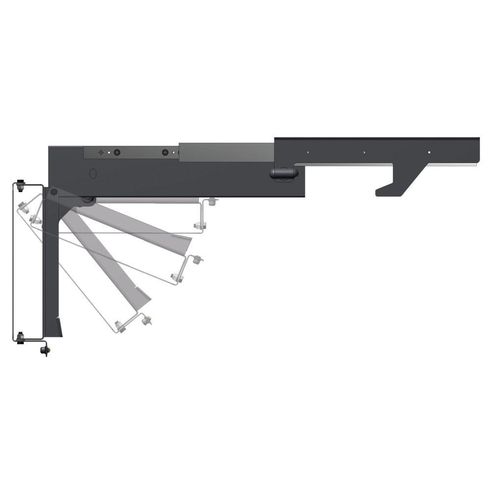 MORryde Slide-Out and Flip Down TV Ceiling Mount