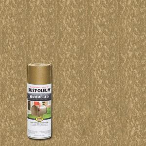 12 oz. Hammered Gold Rush Protective Spray Paint