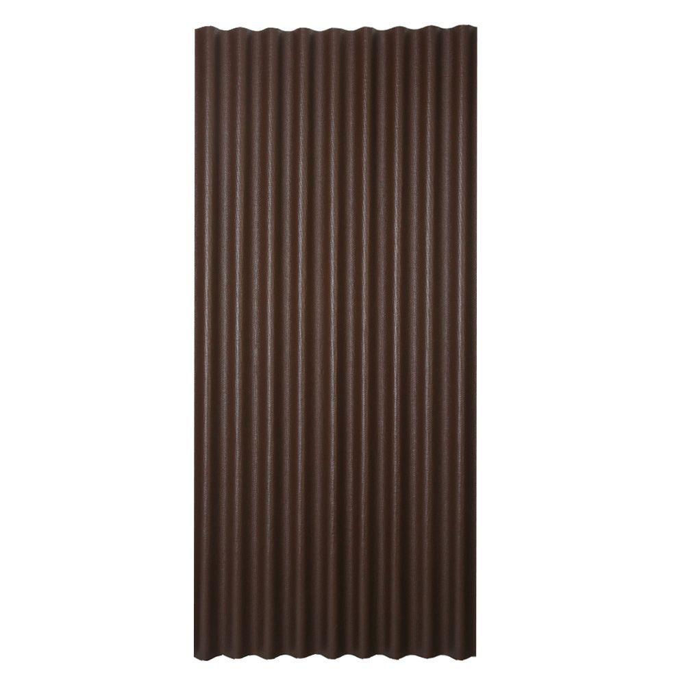Ondura 3 Ft X 6 5 Ft Corrugated Asphalt Roof Panel In