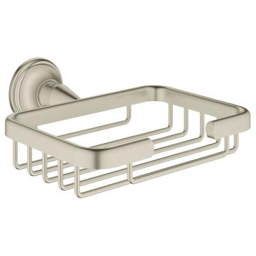 Essentials Authentic Filing Basket in Brushed Nickel InfinityFinish
