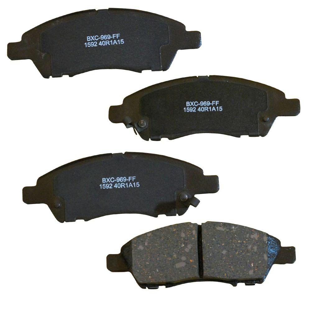 Disc Brake Pad Set-Stop Ceramic Brake Pad Rear Bendix SBC1415