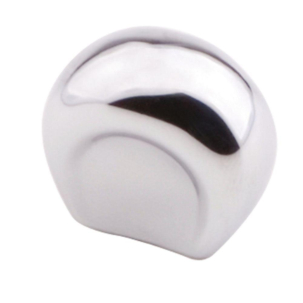 Liberty 1 in. Polished Chrome Ultra Mod Shape Cabinet Knob