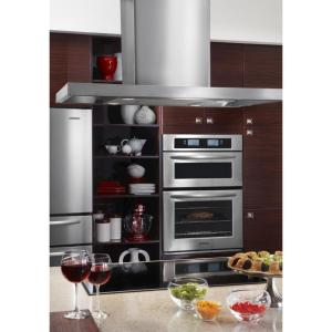 Kitchenaid Architect Series Ii 30 In Smooth Surface Induction Cooktop In Black With 4 Elements Including Bridge Element
