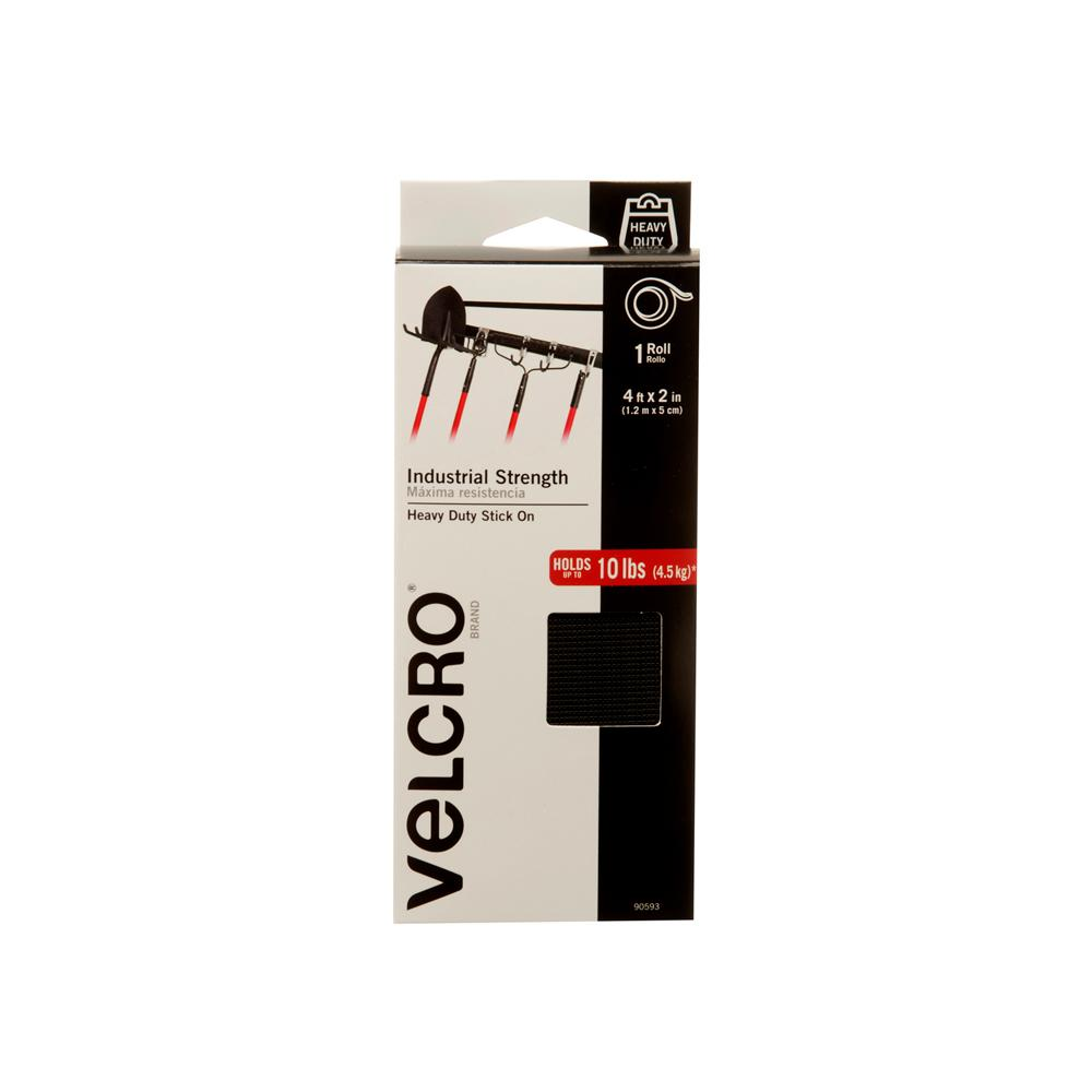VELCRO Brand 4 ft. x 2 in. Industrial Strength Tape