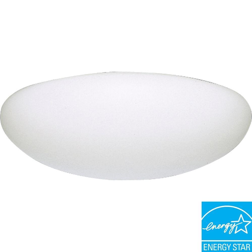 Progress Lighting White 2-light Fluorescent Fixture-DISCONTINUED