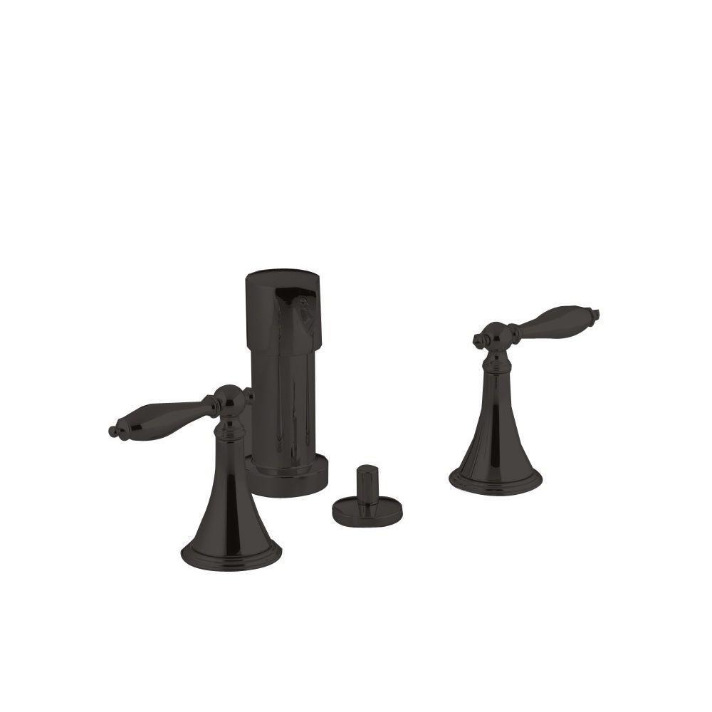 KOHLER Finial 2-Handle Bidet Faucet in Oil-Rubbed Bronze