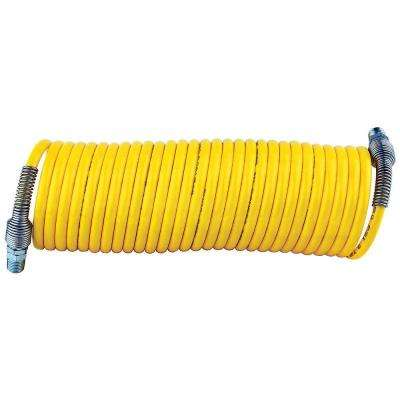 1/4 in. x 25 ft. Nylon Coiled Air Hose