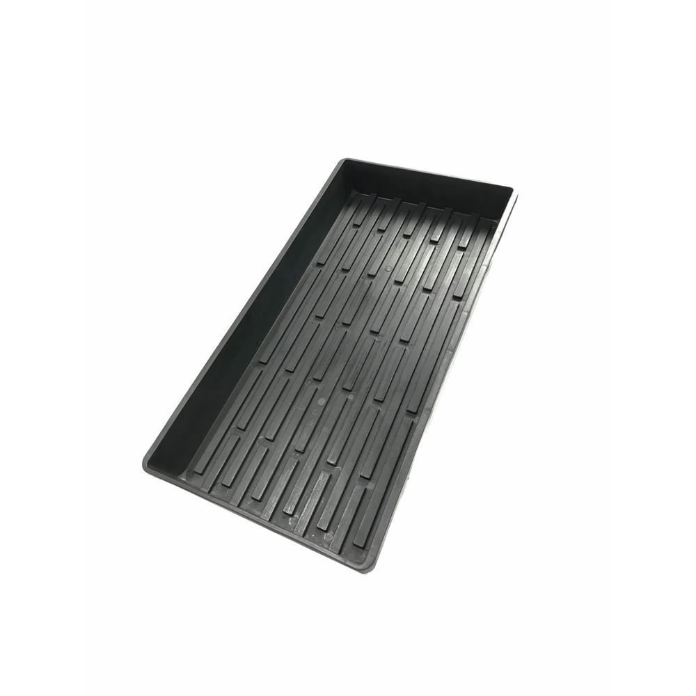 Viagrow Viagrow 10 in. x 20 in. Extra-Strength Quad Seed Starter Propagation Tray (5-Pack)