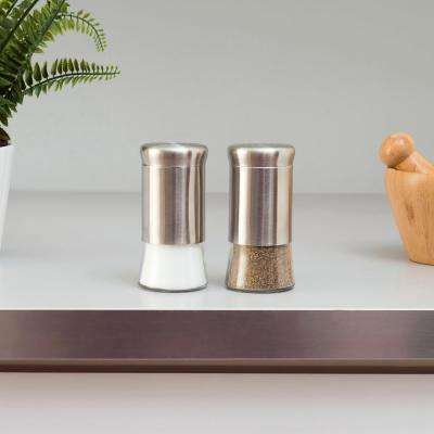 Grey Salt and Pepper Shakers