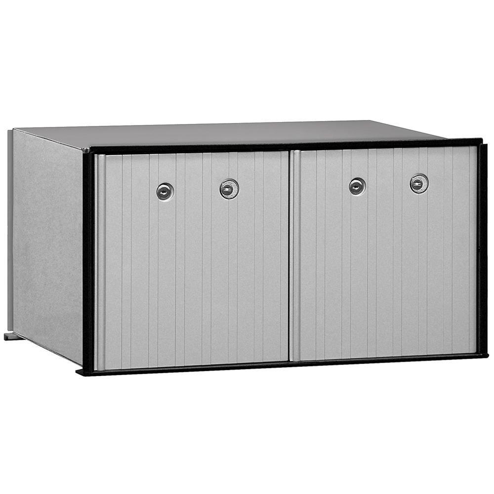 Salsbury Industries 2200 Series 2 Doors USPS Aluminum Parcel Locker