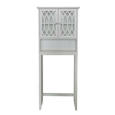 Valleta 22 in. W White Wood Over the Toilet Stand
