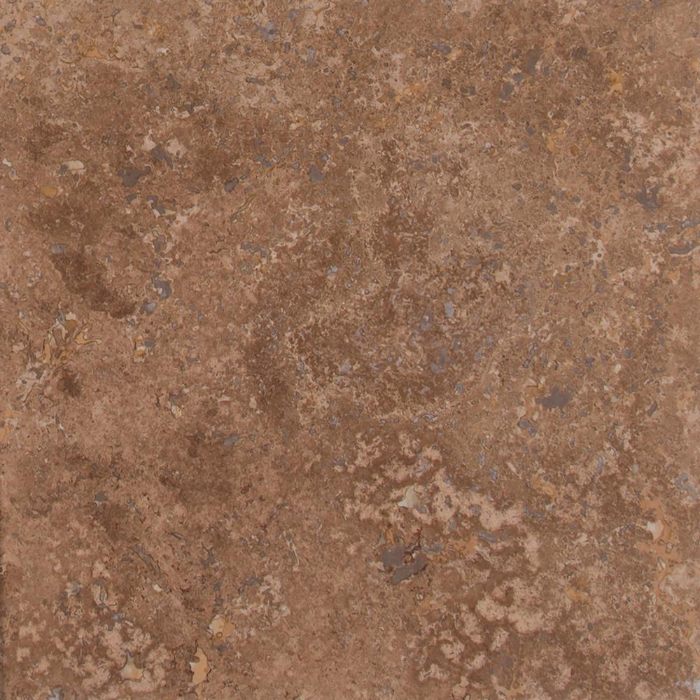 Msi Noche Premium 12 In X 12 In Honed Travertine Floor And Wall Tile 10 Sq Ft Case