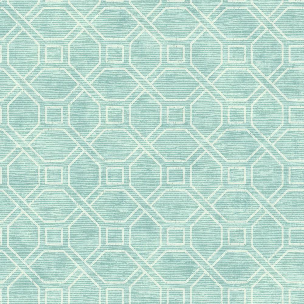 Coastal Trellis Wallpaper