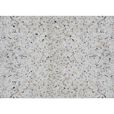 Grey Terrazzo Cement Kitchen Panel Wall Decal