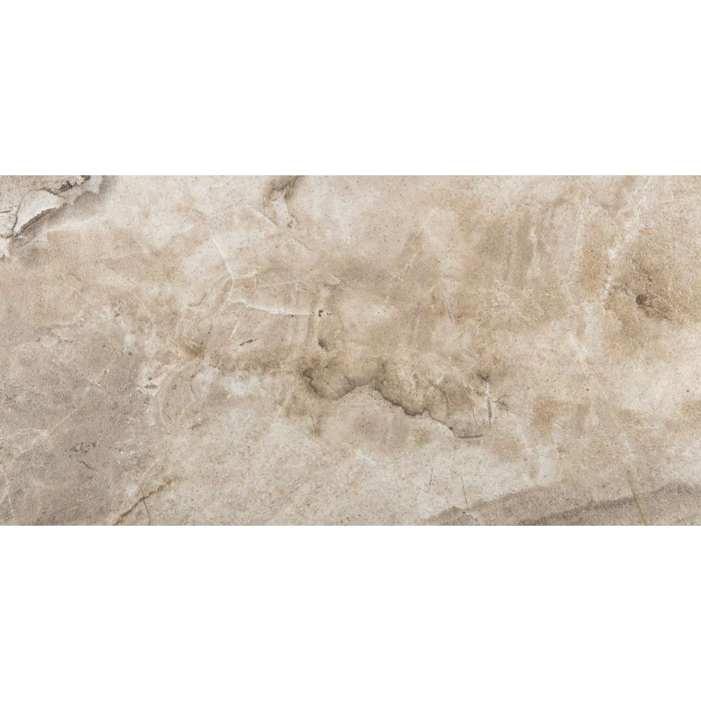 Eurasia Cafe 12 in. x 24 in. Porcelain Floor and Wall