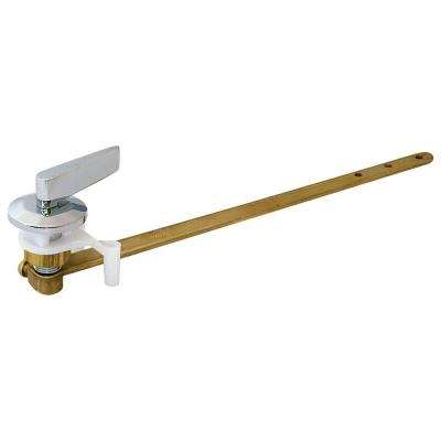 8.5 in. Heavy-Duty Solid Brass Toilet Tank Lever with Chrome Handle