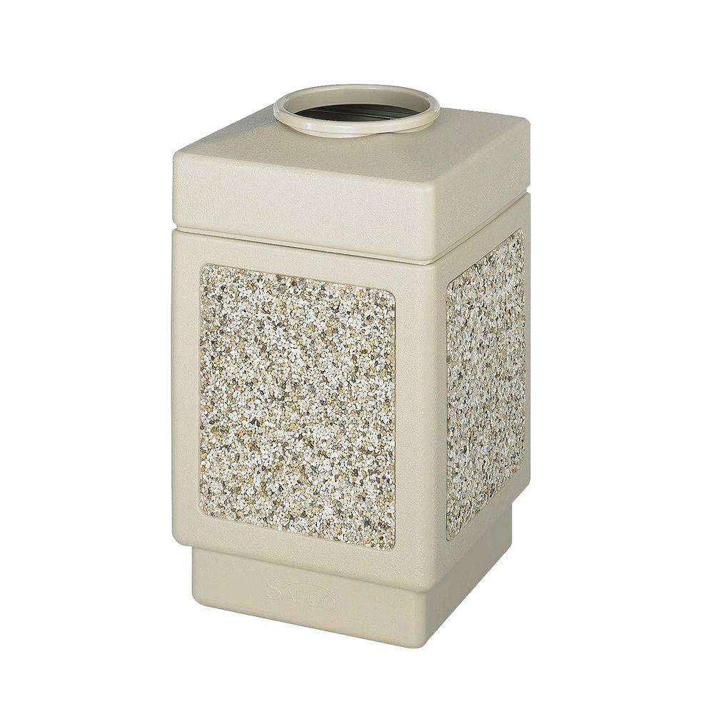 Safco 38 Gal. Top-Opening Receptacle
