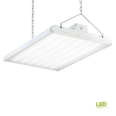 160-Watt 2 ft. White Integrated LED Backlit High Bay Hanging Light with 19000 Lumen 5000K (24-Pack)