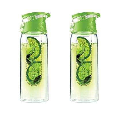 Pure Flavor 2 Go 20 oz. Lime Water Bottle (2-Pack)