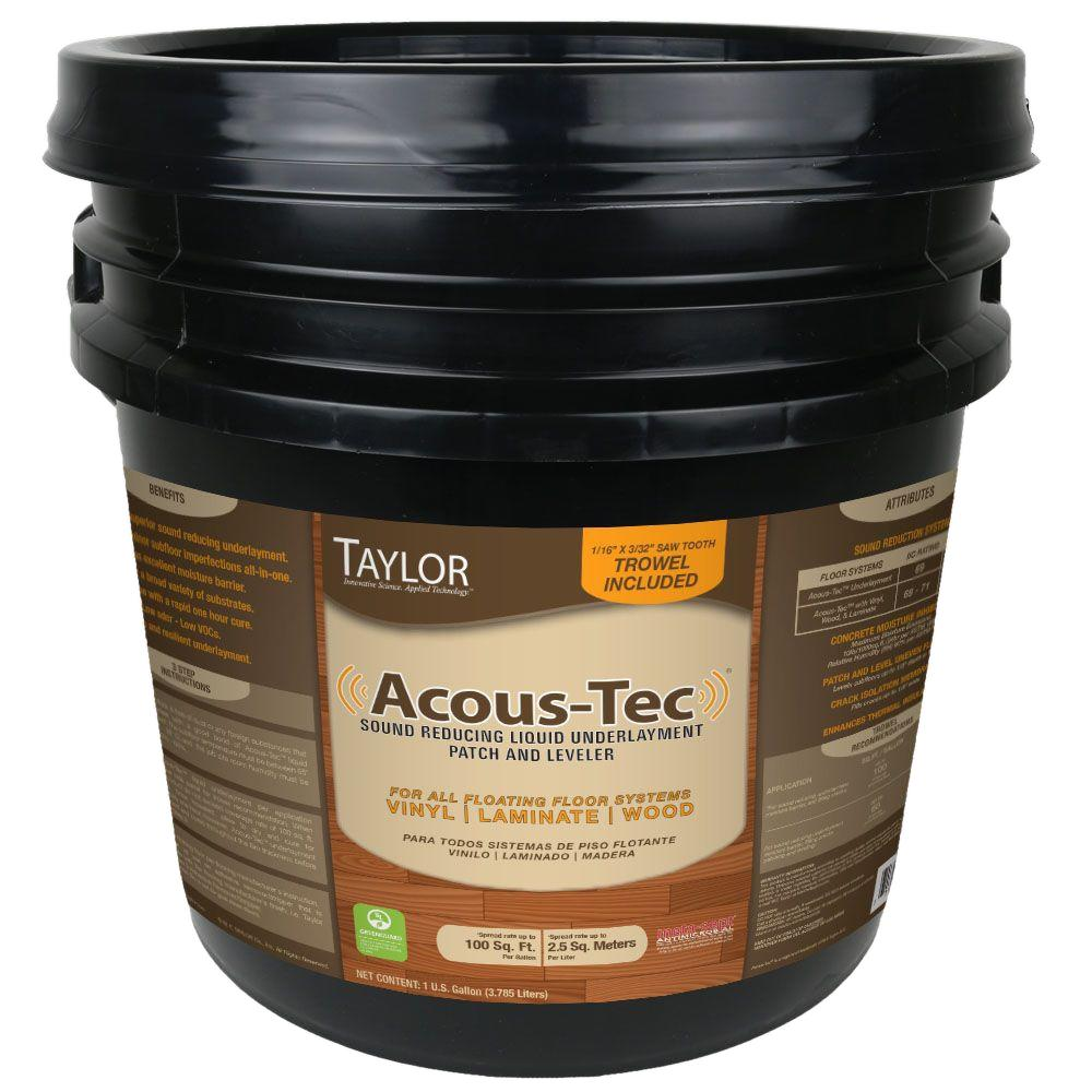 Taylor 1 Gal. Sound Reduction Floor Sealant for Floating Floors