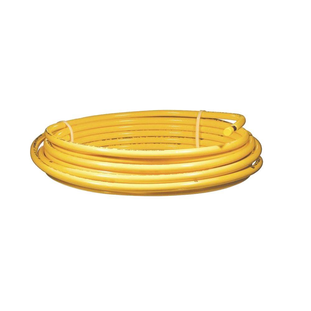 Mueller 5/8 in. x 50 ft. Plastic Coated Copper Coil