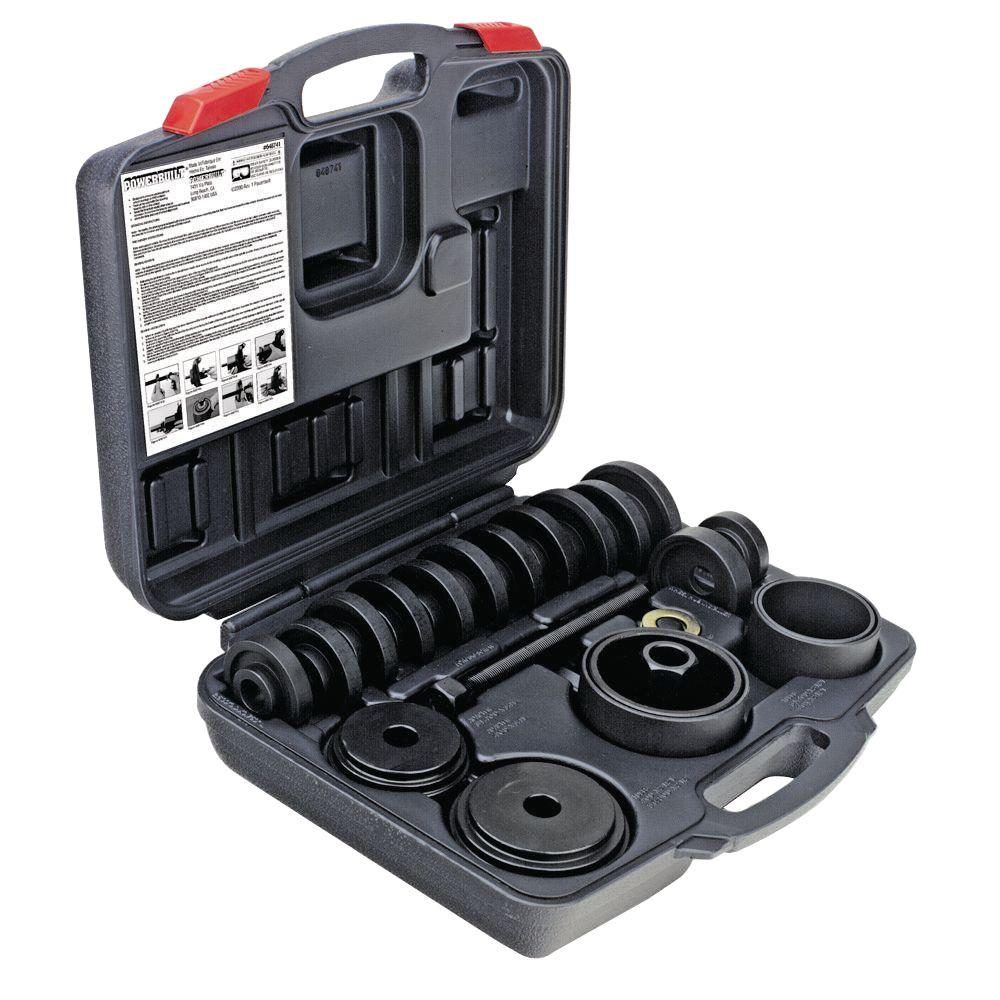 Powerbuilt 23 Piece Front Wheel Drive Bearing Remover And