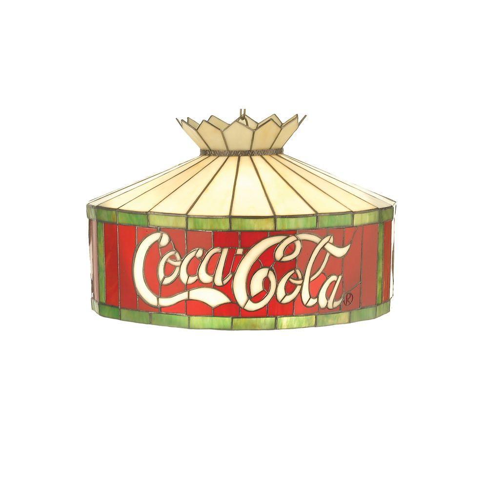 Illumine 3 Light Coca Cola Pendant