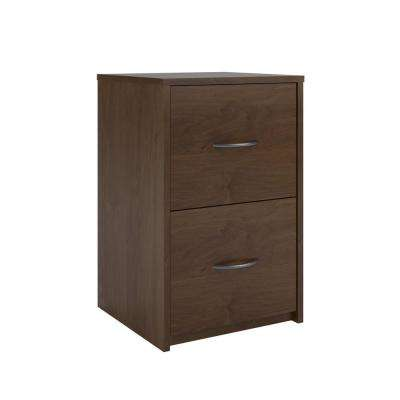 Southwood 2-Drawer Brown Oak File Cabinet
